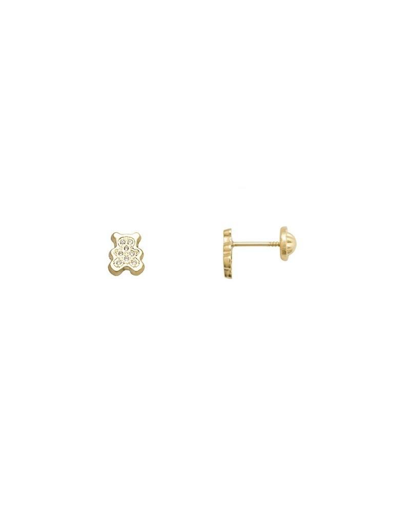PENDIENTES ORO OSITO 55646-P/A/CI