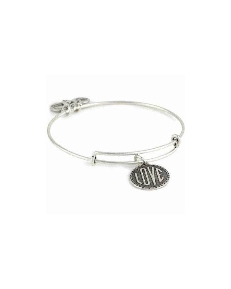 PULSERA ALEX AND ANI LOVE BLANCA A07EB46RS