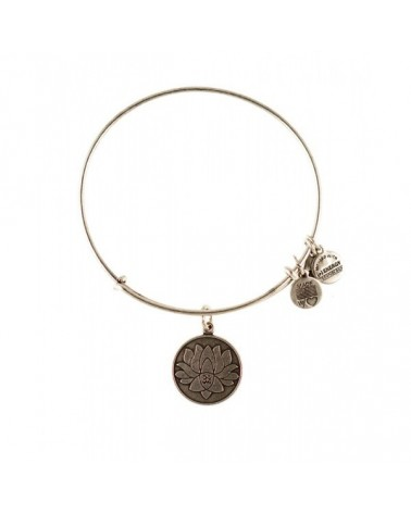 PULSERA ALEX AND ANI FLOR DE LOTO BLANCA A12EB03RS