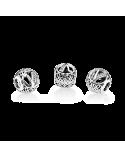 CHARM PANDORA LETRA V 791866CZ
