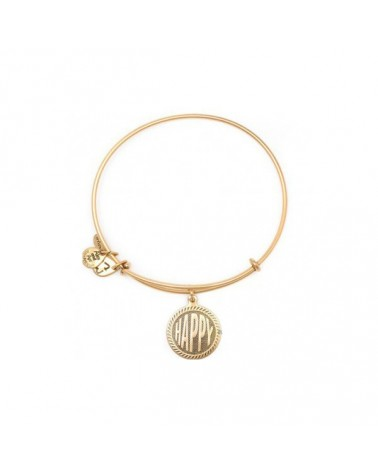 PULSERA ALEX AND ANI HAPPY DORADA A10EB241RG
