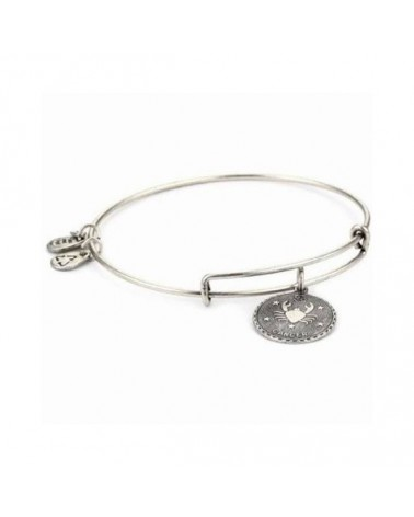 PULSERA ALEX AND ANI CANCER BLANCA A07EB40CNRS
