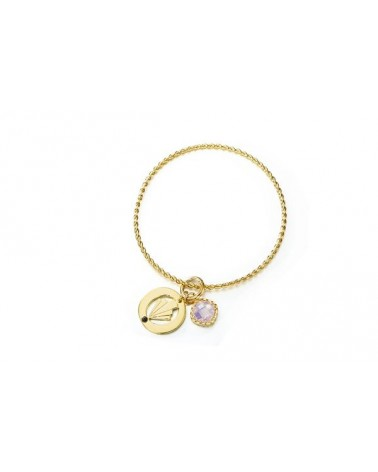 PULSERA VELVET GRACE ROSE