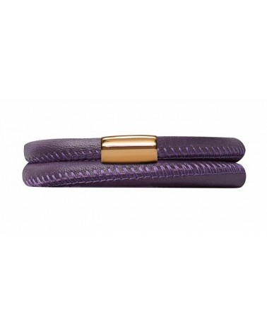 PULSERA ENDLESS VIOLETA DOBLE