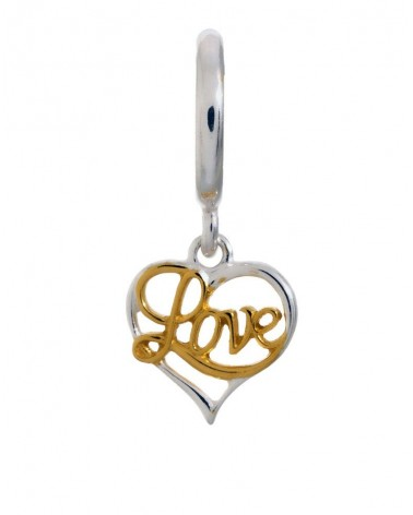 CHARM ENDLESS LOVE PLATA