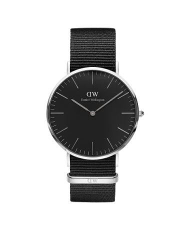 DANIEL WELLINGTON NEGRO 40MM