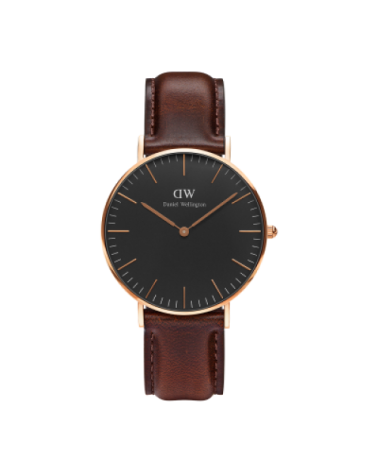 DANIEL WELLINGTON BRISTON NEGRO