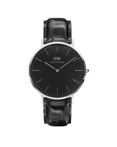 DANIEL WELLINGTON READING BLACK