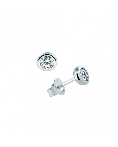 PENDIENTES DE PLATA IMITACION DE DIAMANTES 0,5 KILATES DIAMONFIRE 6212741082